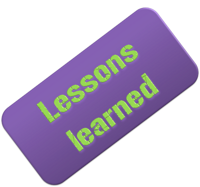 lessons for learning: