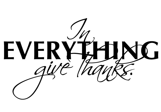 Did You Thank God Today?