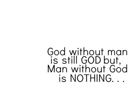 good without god Can we be good without god the answer to that is yes, and it's been widely acknowledged by theists and atheists.
