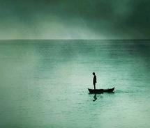 Alone in Boat