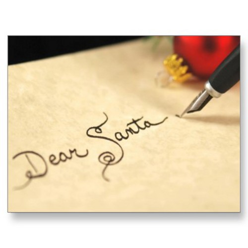 Dear Santa… This Is All I Want For Christmas – Footprints of a ...